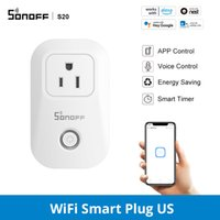 SONOFF S20 S26 US UK DE CN Wifi Power Socket Wireless APP Light Plug Outlet Timer Switch Voice Remote Control For Smart Home Work With Alexa