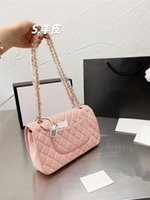 2021 Fashion Designer women bag chain crossbody messenger shoulder bags good quality leather purses ladies handbag Box original package