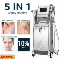 2021 LLLT multifunction OPT ipl laser hair removal nd yag remove tattoo machine rf face lift elight shr