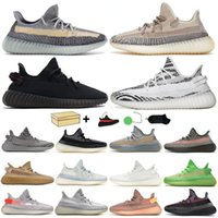 Top quality sneakers mens shoes with double box option all Colors Ash Blue Stone Fade Women Trainers