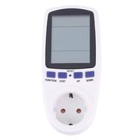 Wholesale Energy Meter Monitor Electricity - Wholesale-1pcs Large LCD display Energy Meter Watt Volt Voltage Electricity Monitor Analyzer Power Factor Newest