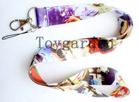 Wholesale Inuyasha Anime - FREE SHIPPING 10 Pcs Hot Sell Anime Inuyasha Mobile Phone Accessories Cell Phone Camera ID Card Neck Straps Lanyard Gifts