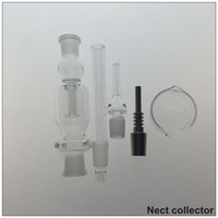 Compra Miele Di Petrolio-Le migliori collezionisti Vendita 14 millimetri Nectar con Domeless quarzo Nail Fit for Miele Staw Concentrato Tubi bicchiere d'acqua oil rig fumatori Glass Bong Set