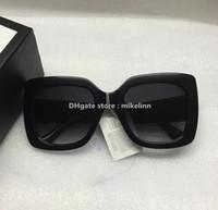 Wholesale Amber Big - Sunglasses 0083 0083s Women Men Brand designer Big size fashion original box high quality lady glasses discount famous luxury M34