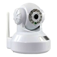 Wholesale Install Wireless Camera - Wholesale Intelligent 720P IP Camera CMOS Infrared Wireless Camera Wifi Network Camera Plug & Play Easy To Install By EMS Free Shipping