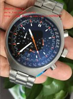 Wholesale Mark X - factory sales Luxury High Quality Watch 46mm x 42mm Mark II Co-Axial Steel VK Quartz Movement Chronograph Working Mens Watch Watches