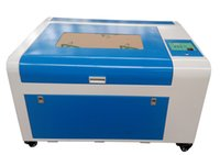 gravür makineleri fiyatları toptan satış-5030 50 w lazer oyma makinesi gravür kesici için şişe oyma çin fabrika sıcak fiyat