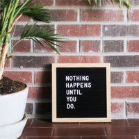 Con supporto Felt Letter Board con 360 caratteri Free Craft Knife e Pouch per Office Business Events e Social Media Natale Christmas