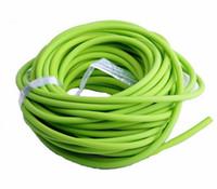tubo de látex verde al por mayor-Nuevo Sporting Tubo de látex natural Slingshot 5mm * 10M Banda de reemplazo de color verde para la caza Sling Shot Catapults Slings de goma