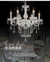 Wholesale white beds hotel rooms online - Modern Chandelier crystal Lighting modern living room bed room crystal lights chandeliers Lighting Modern Crystal Light