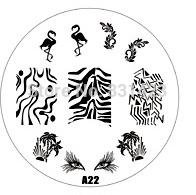Wholesale Manicure Beauty Care Images - Wholesale-HOTSALE A Series A22 Nail Art Polish DIY Stamping Plates Image Templates Nail Stamp Stencil Manicure Care Beauty Designs Tools