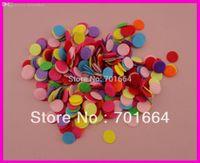 "Wholesale Wholesale Bargains - Wholesale-1000PCS 1.5cm 3 5"" colorful round felt pads for flower and brooches' back,15mm round felt patches,Bargain for Bulk"