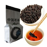 Wholesale Cut Cost - C-WL045 High Quality Chinese Oil Cut Black Oolong Tea Fresh Natural Slimmig Tea High Cost-effective Weight Los Tea 125g