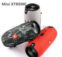 Wholesale Mini Bluetooth Usb Dhl - Mini Xtreme Bluetooth speakers Outdoor subwoofer waterproof with straps stereo portable MP3 player speaker Support USB TF FM DHL Free