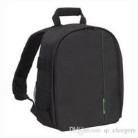 Wholesale Video Designers - DSLR Backpack Photo Camera Backpack Designer Camera Case Bag Mochila Video Digital Waterproof Camera Bag