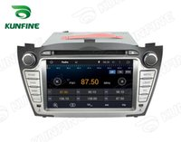 Wholesale Dvd Player For Hyundai - Quad Core 1024*600 HD Screen Android 5.1 Car DVD GPS Navigation Player for Hyundai Tucson   IX35 2009-2012 Radio 3G Wifi