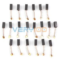 Wholesale Wholesale Blower Motor - 20pcs Carbon Brushes for Generic Electric Drill Motor 10 x 5 x 4mm New order<$18no track