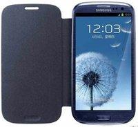 invólucro para s3 venda por atacado-Atacado-para Samsung Galaxy S3 i9300 Case Capa Original Flip Leather Case + Frete Grátis