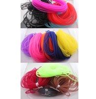 Wholesale Bracelet Thread Wholesale - Diameter 8mm Bracelet Mesh Cord Tubing Tube Plastic Net Thread Cord String DIY Jewelry Cord Findings JJAL O106