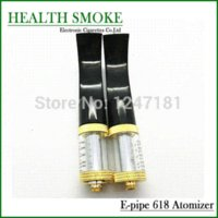 Wholesale Ego Sax - E Pipe 618 atomizer Sax Shaped 2.5ml vaporizer with 2.0ohm resistance for e pipe 618 eGo Electronic Cigarette free shipping