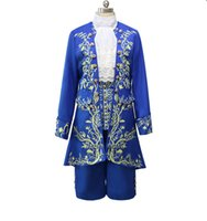 Cartoon Beauty and the Beast Cosplay Costumi per adulti Prince Adam Cosplay Abiti Adam Men vestiti per abiti da festa di Halloween