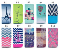 Wholesale Iphone4s Cases Cartoon - Cartoon Owl Flower Dandelion Tower flip Wallet Leather Pouch stand Case For iphone4S 5S 5C 6 6Splus Samsung S3 S4 S5 S6 S6 edge note3 note4