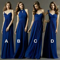 Новый пользовательский цветной размер! Sweet 4 Style Long Bridesmaid Dresses Colours Wedding Dress, Prom Party Dress Women Plus Размер