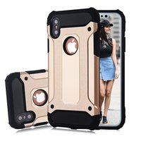 Wholesale Armor Moto - Hybrid Armor Cases For S9 S8 Plus S7 Edge Note 8 J5 Prime Iphone X 8 7 6S Plus 5S SE LG Moto