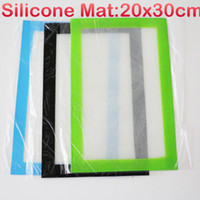 Wholesale Cheap Jars Containers - Cheap price non-stick silicone mat for wax oil rubber silicon container jars silicone mat with custom printing silicone bho pad for ti nails