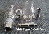Wholesale Ego C Heads - Vhit Type C Coil Head Only for Seego Vhit Type C Atomizer atomizer ego vaporizer atomizer e cigarette Factory price