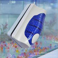 Wholesale Glass Cleaning Scraper - Magnetic Brush Fish Tank Glass Afor LGae Scraper Aquarium Cleaner Floating Clean Brush 7*7*3.5cm AY006