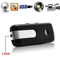 Mini vigilância USB U8 Camera Spy Cam Pinhole Video Camcorder DV DVR Recorder Oculto Spy USB Disk Camera