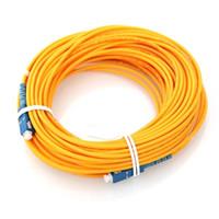 Wholesale Fiber Cables Direct - Factory direct SC UPC-SC UPC fiber connectors patchcord Optical fiber jumper to FTTH single mode Simplex 0.5-30 meters