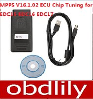 Wholesale Edc16 For Vw - MPPS V16.1.C17 Inkl CHECKSUM Read02 ECU Chip Tuning for EDC15 EDC16 ED And Write Memory Free Shipping