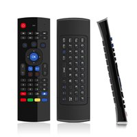 Wholesale 87 Key Keyboard - 2016 Nnewest T3 IR 2.4G Wireless Remote Control Keyboard Air Mouse For PC Android TV Box 87 keys
