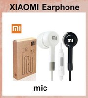 Wholesale Earbuds Mic Remote Mp3 - XIAOMI Earphone Headphone Headset For M2 M1 mi4 1S Samsung iPhone MP3 MP4 With Remote And MIC vs jvc gumy stereo bass earbuds EAR021