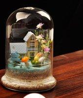 ingrosso paesaggio matrimonio-Grande terrario // Paesaggio in miniatura // Vaso per piante d'aria per arredamento di matrimoni, decorazioni per la casa, regali per gli amici