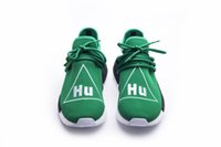 Wholesale Green Lighting Company - 2017 NMD PW Pharrell X Williams Human Race Woven Boost for Super Basf Company quality Fashion Weaving Casual Runner Running Shoes Size 36-48