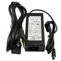 adaptador dc de conmutación de corriente alterna al por mayor-AC 100V 240V DC Fuente de alimentación Adaptador de conmutación 12V 8A 10A 60W 96W 120W para tira de luz LED Controlador de monitor LED + Cable de alimentación