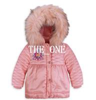 Wholesale Wholesale Long Parka - frozen clothing coats girls winter warm coat baby girls winter fur outerwear coats jackets Frozen Anna and Elsa Hooded Coat kids down parkas