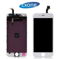 Wholesale Pixel Repair Lcd - Replacement Lcd Digitizer For iPhone 6 Lcd Black White 4.7 Display Repair Touch Screen Digitizer Assembly No Dead Pixel Free DHL