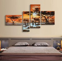 Wholesale High Quality Sheet Sell - hand painted oil painting Factory sell High quality Wall art Home Decoration 100% oil painting valentine's day no frame