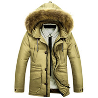 Wholesale Clearance Long Down Coat - Fall-2015 new men plus size parkas male jacket winter Clearance in the men's clothing long down coat