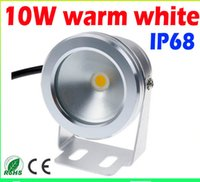 900lm 10W 12V Warm White Cool White LED Lampes sous-marines Pond Pool Fountain Light Spot Lampes IP68 Imperméable + 2 ans de garantie