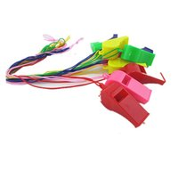 Wholesale Special Whistle - Colorful Whistle Dynamic Atmosphere plastic Whistles sports Referee whistles Special Kids Toys Cheerleading