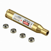 cartucho laser calibre bighterighter al por mayor-Mira láser rojo Bore Sighter 30-06 / 25-06 / 270Win Boresighter cartucho
