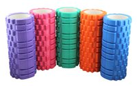 Wholesale Stick Spikes - Wholesale-Spike-shaped Hollow Yoga Stick Foam Roller Balance Yoga Roller
