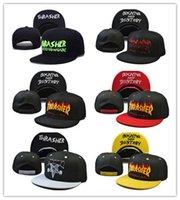 Wholesale Retro Snapbacks - Good Quality Snapback caps Cap punk metal Flame hip hop baseball caps brim retro duck tongue caps for men