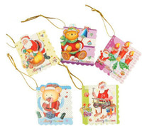 Wholesale Wishing Tree Supplies - Free shipping lovely Christmas Wish cards enfeites de natal beautiful christmas supplies