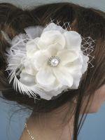 Wholesale bridal combs online - Wedding Hair Accessories Bridal Headwear In Stock Stunning Wedding Bridal Crystal Flora Hair accessories